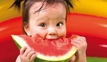 Mi bebé no come fruta
