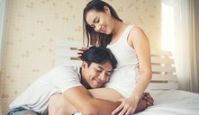 ¿Cuándo un bebé empieza a dar patadas?