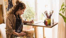 Maternidad y arte