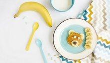 ¿A qué edad puede comer un bebé plátano?