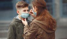 Dermatitis en niños por el uso de la mascarilla