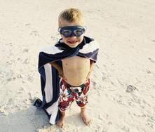 Juegos infantiles en la playa