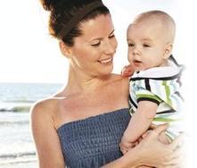 Protección solar en los bebés
