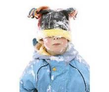 Deportes de invierno. Diversión en la nieve para los niños