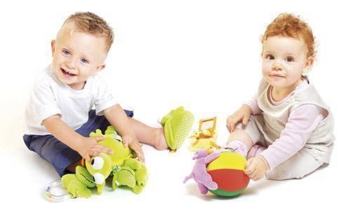 Juguetes apropiados para niños de 1 año