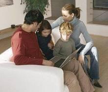 Enseña a tus hijos a usar Internet