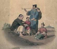 La familia en la Antigua China