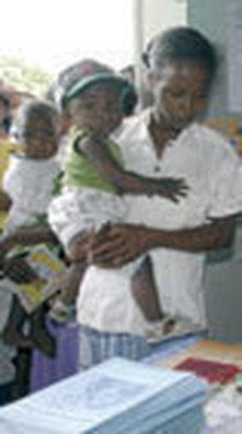 Dar a luz en medio de la pobreza
