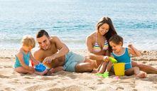 ¿Cómo entretener a niños en la playa?