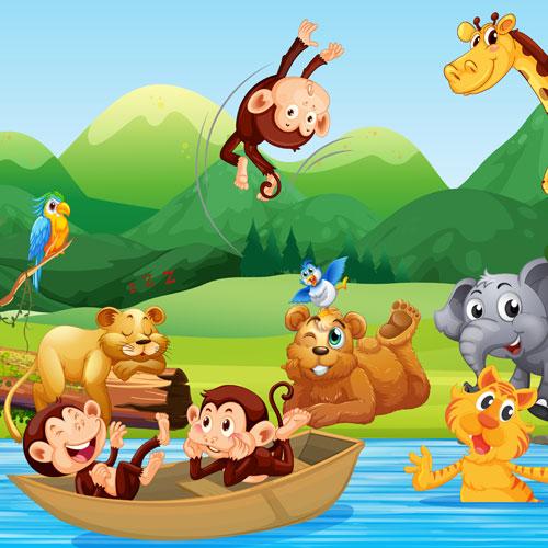 La Aventura De Los Animales De La Selva Cuentos Infantiles