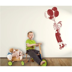 Vinilo decorativo niño globos de Decora tu Pared