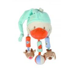 Pato con Sonajeros Colgantes Les Zamis de Nattou
