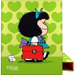 Carpeta anillas A4 Mafalda Corazón de Grafoplas