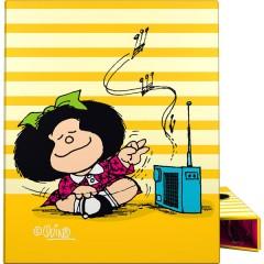 Carpeta anillas A4 Mafalda Rayas de Grafoplas
