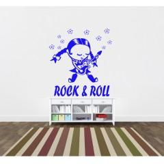 Vinilo decorativo Niña Rock&Roll de Vinilos con Arte
