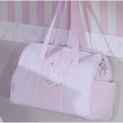 Bolso maternal Lapin rosa de Belino