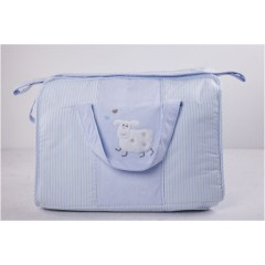Bolso maternal Lapin azul de Belino