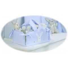 Canastilla Plegable Lapin Azul de Belino