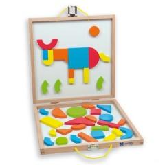 Caja formas magnéticas de Andreu Toys
