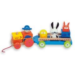 Arrastre Tractor Granja de Andreu Toys