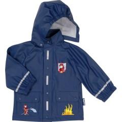 Abrigo impermeable pequeño bomberos de Playshoes