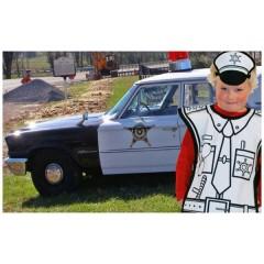 Disfraz para Colorear Policía