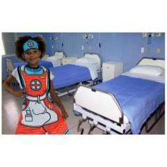 Disfraz para Colorear Enfermera