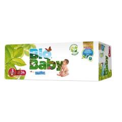 136 Pañales T3 de 7 a 10 kg BioBaby de Moltex