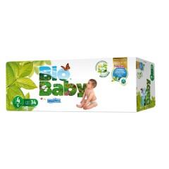136 Pañales T4 de 9 a 13 Kg Biobaby de Moltex