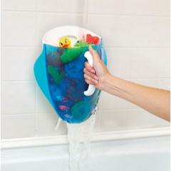 Recogedor de juguetes para el baño