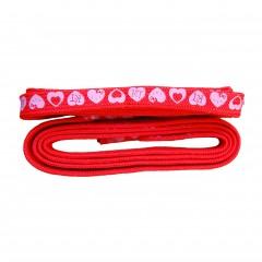 Cordones rojos Hello Kitty de TodoPapás Outlet