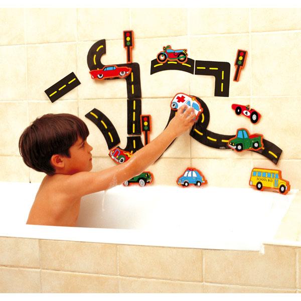 Accesorios Para Baño Que Se Pegan:de Asalvo es un juguete para el baño pensado para que tu hijo se