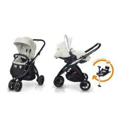 Match 2 Silla Kudu 3 negro + Grupo 0 Sono + Base isofix Ice de Casualplay