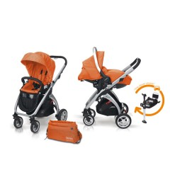 Match 2 Kudu 4 aluminio + Sono + Base Isofix + Bolso Flamingo de Casualplay