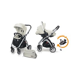 Match 2 Kudu 4 aluminio + Sono + Base Isofix + Bolso Ice de Casualplay