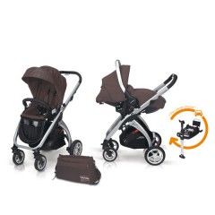 Match 2 Kudu 4 aluminio + Sono + Base Isofix + Bolso Lava Rock de Casualplay