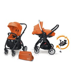 Match 2 Kudu 4 negro + Sono + Base Isofix + Bolso Flamingo de Casualplay