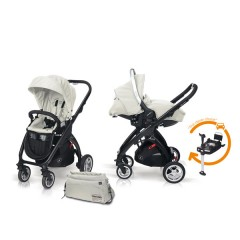 Match 2 Kudu 4 negro + Sono + Base Isofix + Bolso Ice de Casualplay
