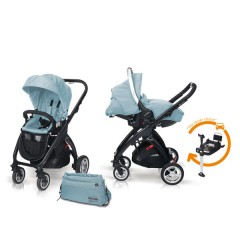 Match 2 Kudu 4 negro + Sono + Base Isofix + Bolso Aquaisland de Casualplay