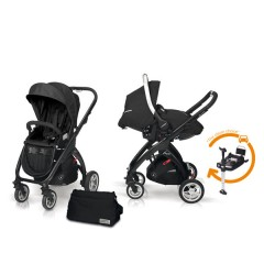 Match 2 Kudu 4 negro + Sono + Base Isofix + Bolso Graphite de Casualplay