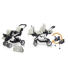 Match 2 Stwinner + Sono + Base isofix + Bolso Ice de Casualplay