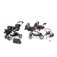 Match 2 Stwinner + Sono + Base Isofix + Bolso Lava Rock de Casualplay