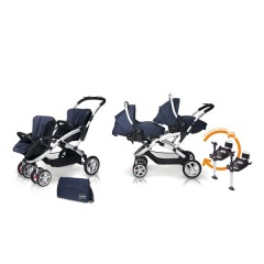 Match 2 Stwinner + Sono + Base Isofix + Bolso Jeans de Casualplay