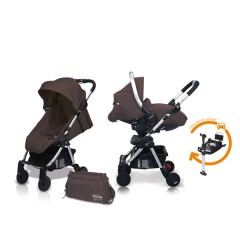 Match 2 Livi + Sono + Base Isofix + Bolso Lava Rock de Casualplay