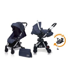 Match 2 Livi + Sono + Base Isofix + Bolso Jeans de Casualplay