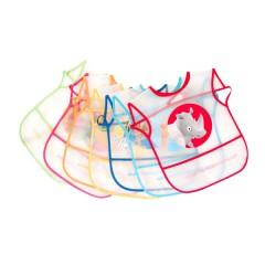 Pack 7 Baberos de Plástico de Ms
