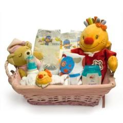 Cesta de Nacimiento para Niña Niza de Petit Chat