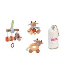 Pack juguetes para la silla de auto de Nattou