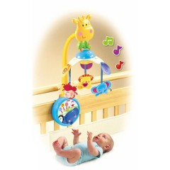 Móvil Jirafa Musical de Fisher-price