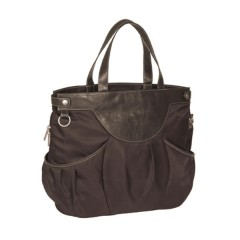 Bolso Glam City Bag Choco de Lassig